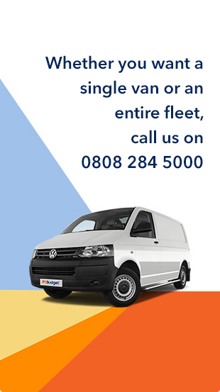 budget van hire for customers