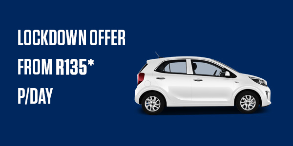 Cheap car hire for level 3 lockdown