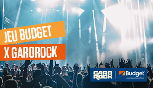 Jeu concours Budget x Garorock