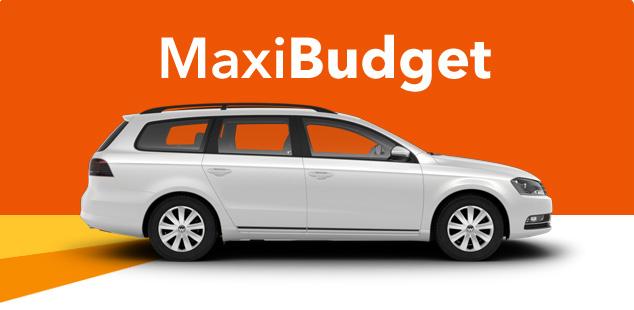 Hyrbilserbjudande Maxi - i Tyskland, Schweiz & Österrike