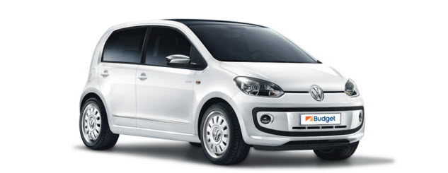 VW Up for hire from Budget South Africa
