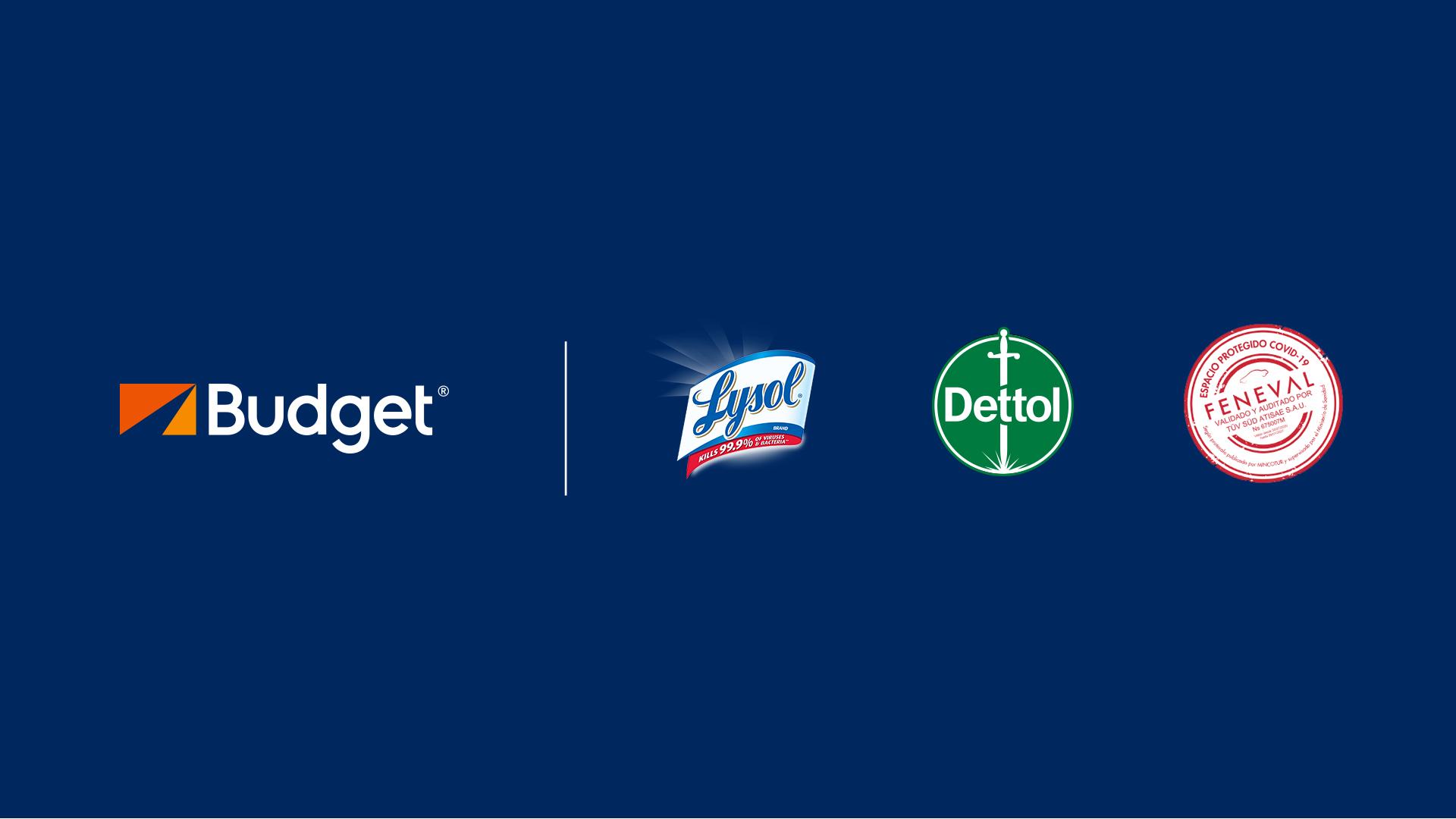 Budget, con la protección de Dettol & Lysol