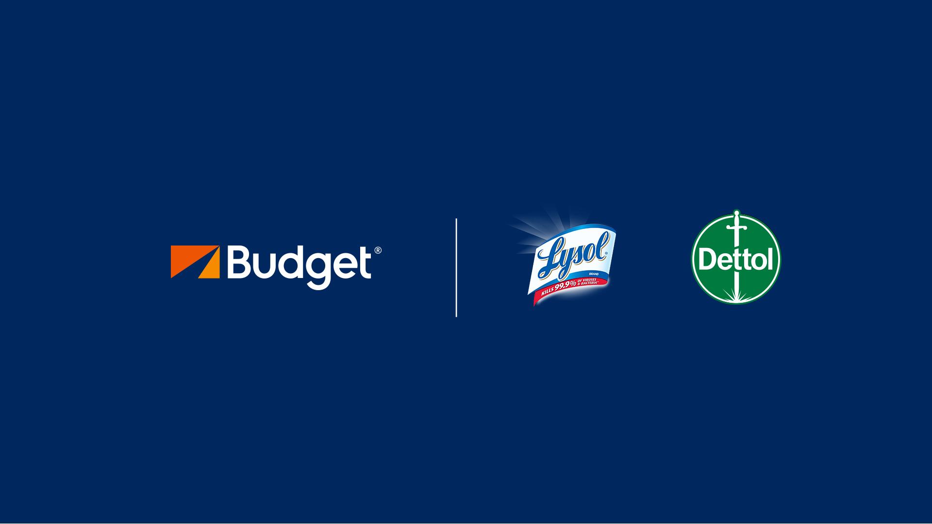 Vi er gået sammen med Dettol, så vi kan anvende brancheførende desinficeringsmidler til at rengøre vores biler og udlejningskontorer.