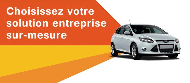 Location de voiture professionnels