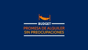 Promesa de alquiler sin preocupaciones de Budget