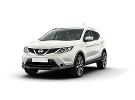 Bilexempel: Nissan Qashqai (bilgrupp E)